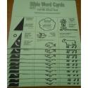 Volume I  Bible Word Cards (KJV) 12/pk   (Tell Me About God)