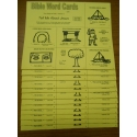 Volume II   Bible Word Cards (KJV) 12/pk   (Tell Me About Jesus)