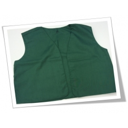 Lamb's Vest- hunter green- S
