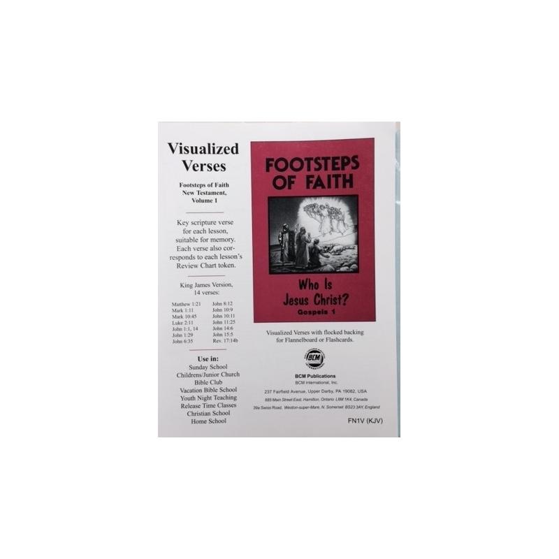 NT Volume 1 Visualized Bible Verses-KJV - BCP Resources