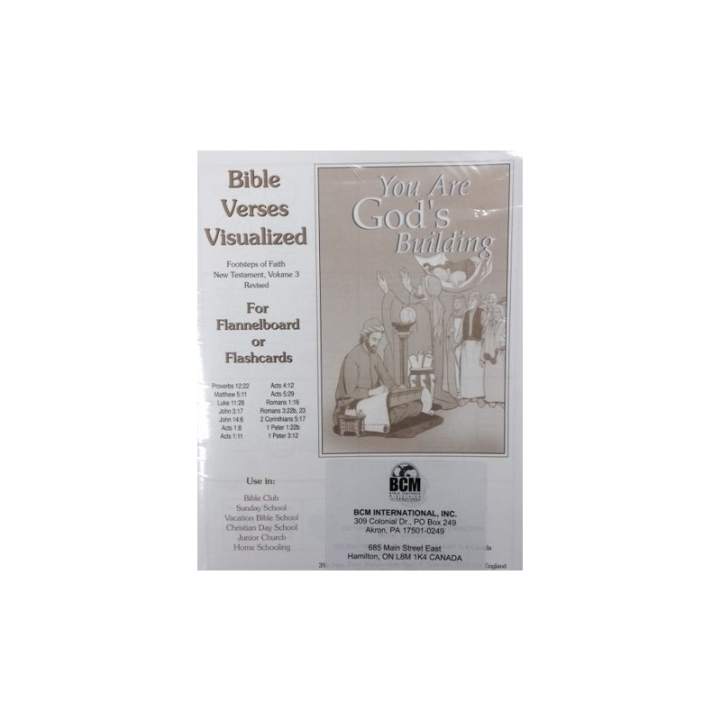 NT Volume 3 Visualized Bible Verses-KJV