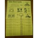 Volume II   Bible Word Cards (NKJV) 12/pk  (Tell Me About Jesus)