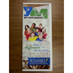 JOY Club Youth Ministry Flyer