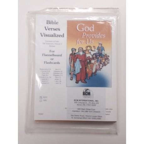OT Volume 2 Visualized Bible Verses-KJV