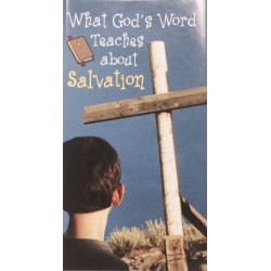 What God's Word Teaches About Salvation