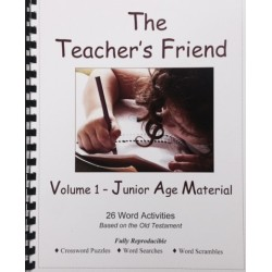 The Teacher's Friend--Volume I