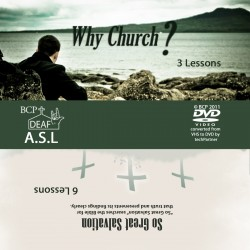 Why Church?  and So Great Salvation DVD