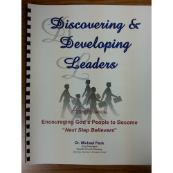 Discovering and Developing Leaders - Student Manual - English DOWNLOAD version