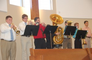 11.3.13 Wmsbg Graduation Brass Group