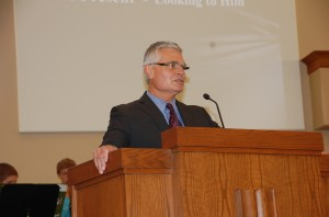 11.3.13 Wmsbg Graduation Pastor John Sauser