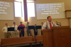 11.3.13 Wmsbg Graduation Song Service
