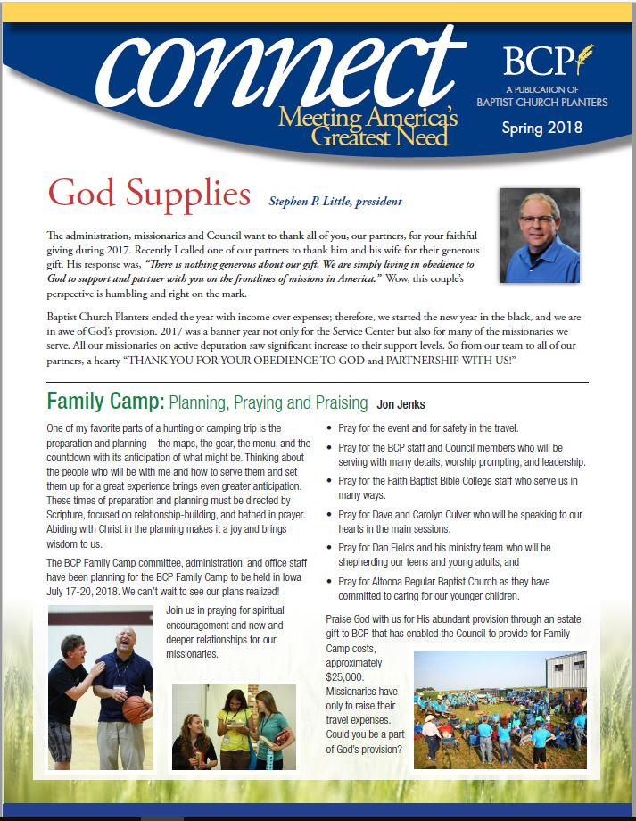 Connect Spring 2018