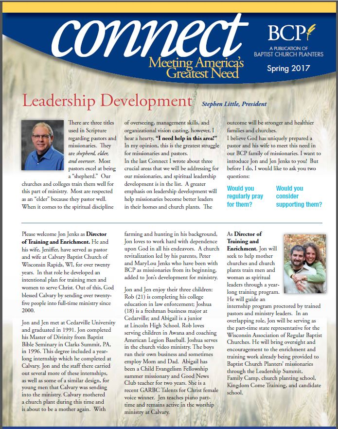 Connect Spring 2017