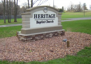 Heritage sign Canastota