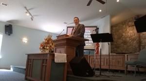 Jim Preaching