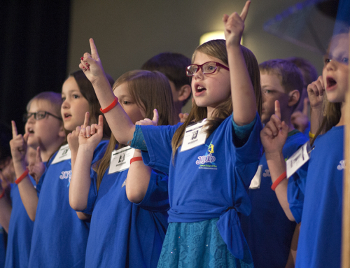 JOY Club leads the children's program at the GARBC Conference