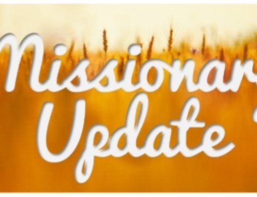 Missionary Update – December 10, 2019
